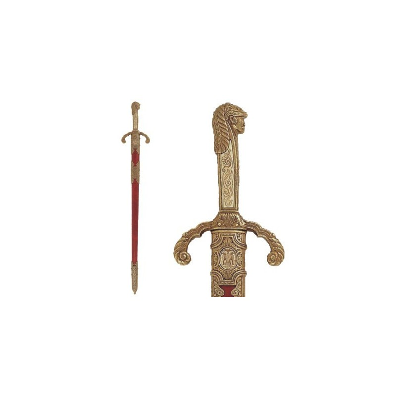 """Sword of Peter """"The Great"""", with scabbard, Russia (90cm)"""