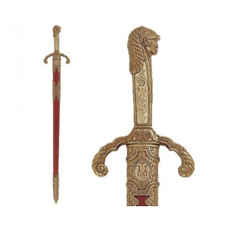 "Sword of Peter ""The Great"", with scabbard, Russia (90cm)"