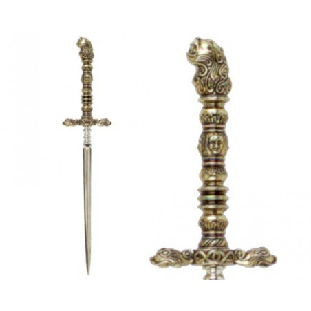 Italian stiletto-dagger, late 17th century (35cm)