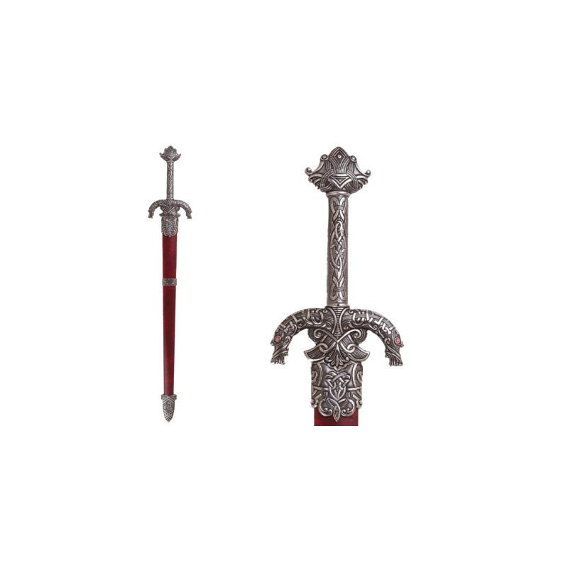 Celtic sword with scabbard, 3rd century BC (116cm)