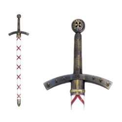 Hugo de Payens sword, France 1118 (112cm)