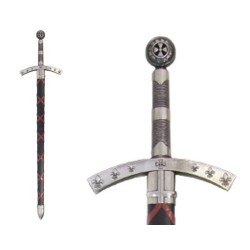 Hugo de Payens sword, France 1118
