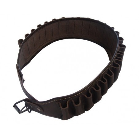 Leather cartridge belt (143cm)