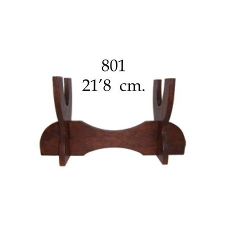 Wood stand for 1 piece (22cm)