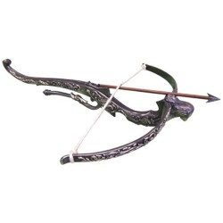 Metallic medieval crossbow (46cm)
