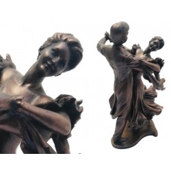 Figure couple dancing 31x18cm