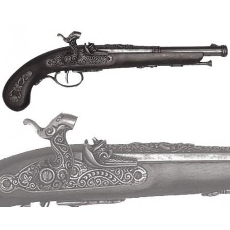 Percussion pistol, France 1832 (37cm)