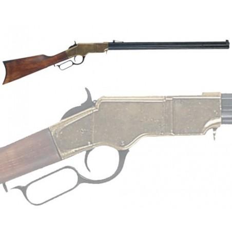 Henry rifle with octogonal barrel, USA 1860 (111cm)