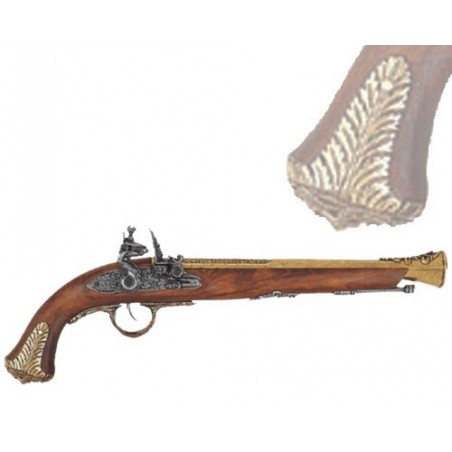 English pistol, 18th century (44cm)
