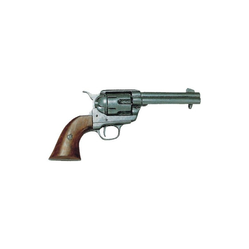 """Cal.45 Peacemaker revolver 4,75"""", with 6 bullets, USA (29cm)"""