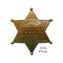 Grand County Shefiff badge