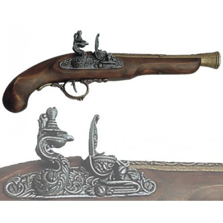 English pistol, 18th century (36cm)