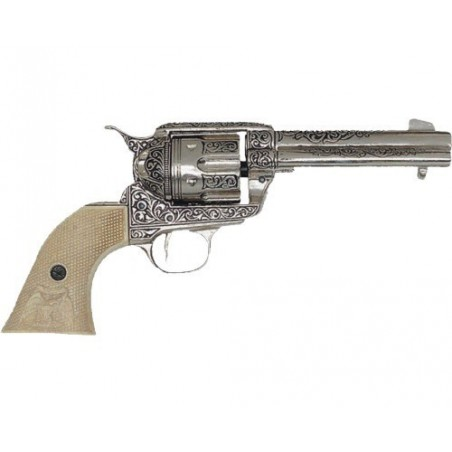 "Cal.45 Peacemaker revolver 4,75"", with 6 bullets, USA 1873 (29cm)"