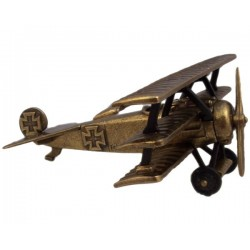 Miniature German airplane Fokker Dr. 1, 1917 (20cm)