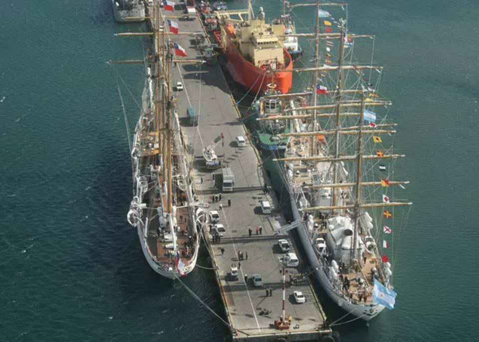 View of berthing and provisioning