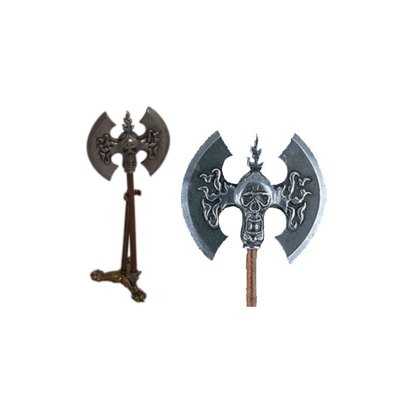 Miniature with support of Attila's axe (20cm)