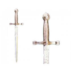 Abrecartas espada medieval (21cm)