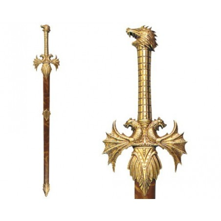 """Sword """"Nothung"""" of Sigurd, with scabbard (115cm)"""