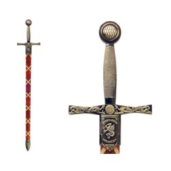 Excalibur King Arthur's legendary sword with scabbard (111cm)