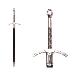 Medieval sword with scabbard, 14th. Century (123cm)