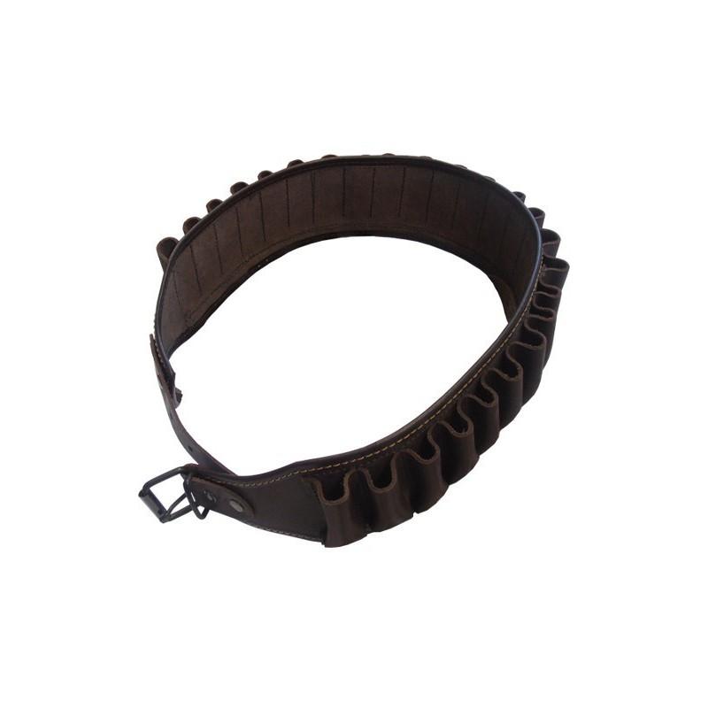 Leather cartridge belt (143cm)