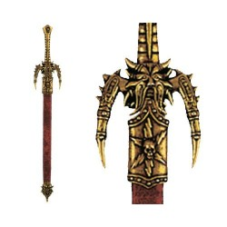 Letter opener Odin's sword with scabbard (29cm)