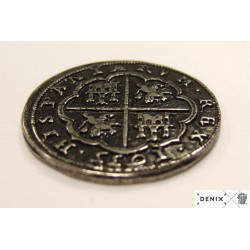 8 Reales de plata (Pieza de ocho) Felipe IV. 1635