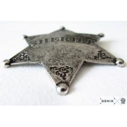 Sheriff star badge (7.5cm)