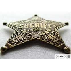 Lincoln County Sheriff badge (6.5cm)