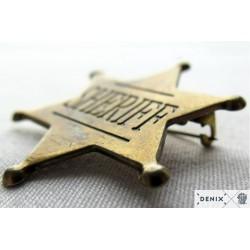 Sheriff badge (4.5cm)