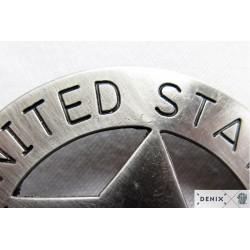 Deputy United States marshal badge, 8.2cm