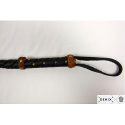 Leather whip (97cm)