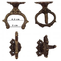 Wall hanger for sword with case (7cm)