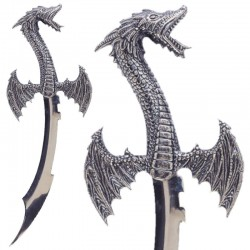 Sigurd's dagger, the dragon...