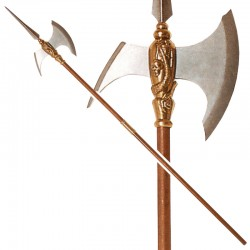 Halberd of barbarian...