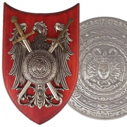 Panoply with shield and 2...