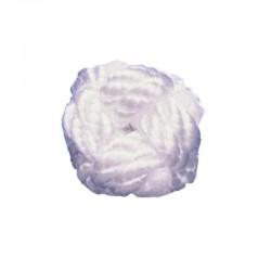 Piña de Rosa de cuerda blanca