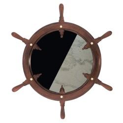 Rudder wheel showcase