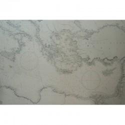 Carta náutica Mediterráneo