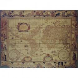 Magellan world map