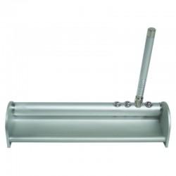 Escribanía de aluminio con bolígrafo y abrecartas