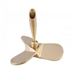Brass propeller 8cm with pen holder