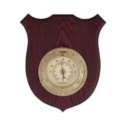 Termómetro portillo, en metopa madera 22x17x4cm