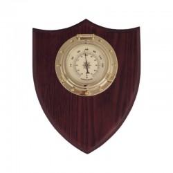 Termómetro portillo, en metopa madera 20x18x4.5cm