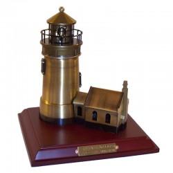 Brass lighthouse 18x17x16cm