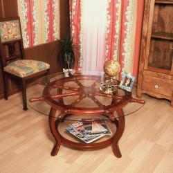 Rudder wheel table 102x49cm