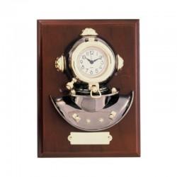 Metopa de pared 23x17x7cm con escafandra y reloj