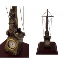 Figurehead with clock 20x7x5cm
