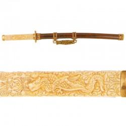 Wakizashi (short katana), Edo period, Japan (73cm)