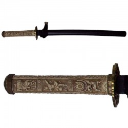 Wakizashi (katana corta), época Edo, Japón (72cm)